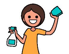 Domestic Helper Infographic Icon